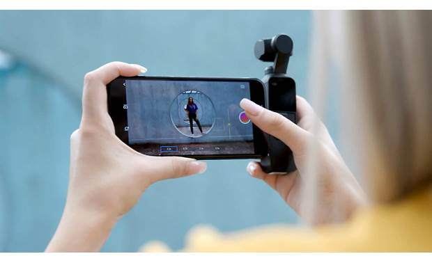 DJI Osmo Pocket DJI Mimo app lets you edit video on your smartphone