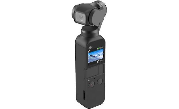 DJI Osmo Pocket Touchscreen and convenient buttons built into the handle