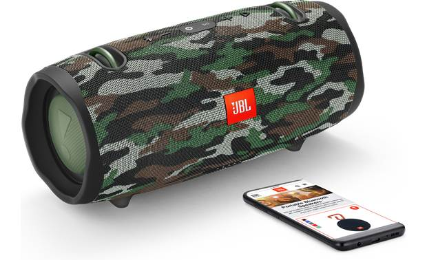 JBL Xtreme 2 Squad - stream via Bluetooth (smartphone not included)