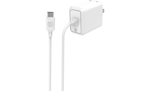Scosche PowerVolt 3.0 USB-C Home Charger White