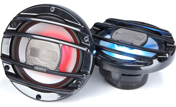 Hertz HMX 6.5 S-LD marine LED speakers