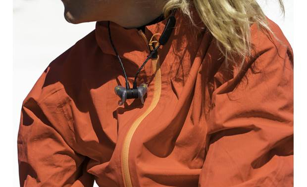 Jaybird Tarah Pro Magnetic earpieces snap together when not in use