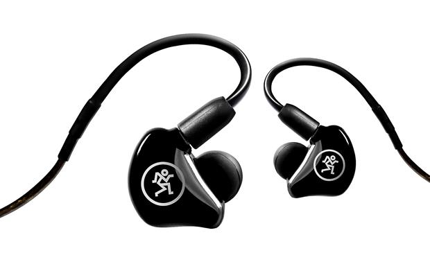 Mackie MP 240 In-ear stage monitors with deep, detailed bass and precise mids and highs