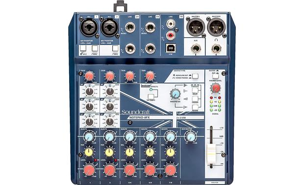 Soundcraft Notepad-8FX 8-channel mixer