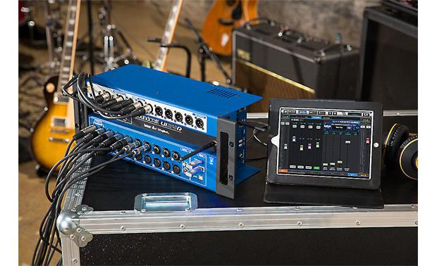 Soundcraft Ui24R along with tablet