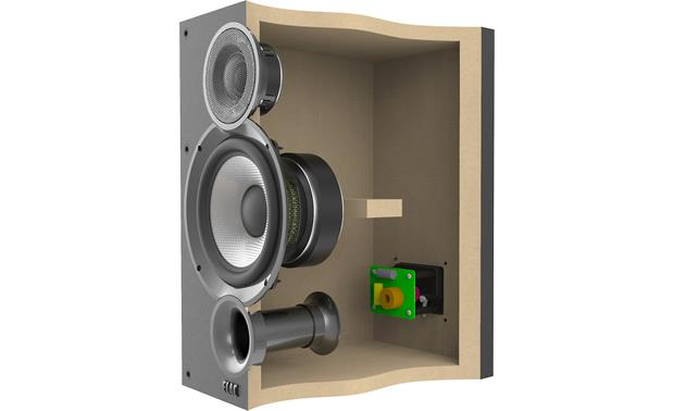 ELAC Debut 2.0 B5.2 Cutaway view of cabinet