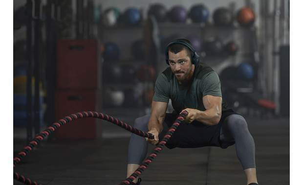 Under Armour® Sport Wireless Train — Engineered by JBL Workout headphones for those who don't like in-ears