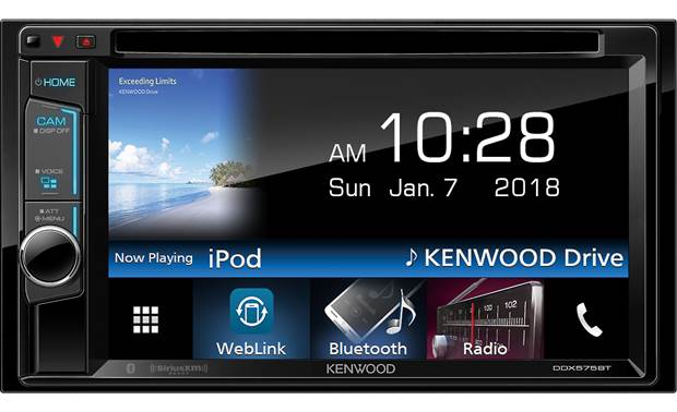 Kenwood DDX575BT DVD receiver at Crutchfield on double din bracket, double din trim ring, double din radio, double din cover, double din dash panel,