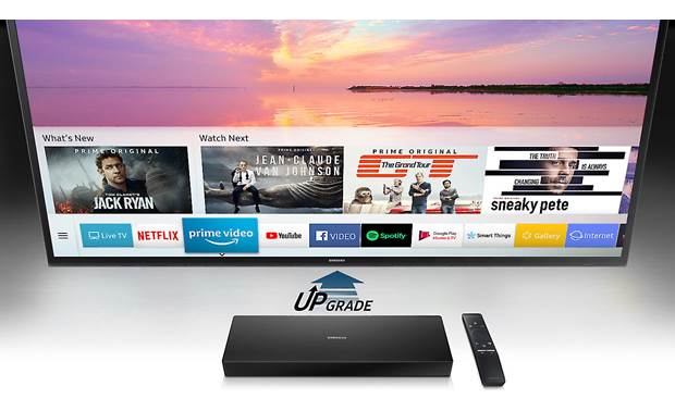 Samsung SEK-4500 Evolution Kit Samsung's latest smart TV features give you quick, easy access to loads of great apps