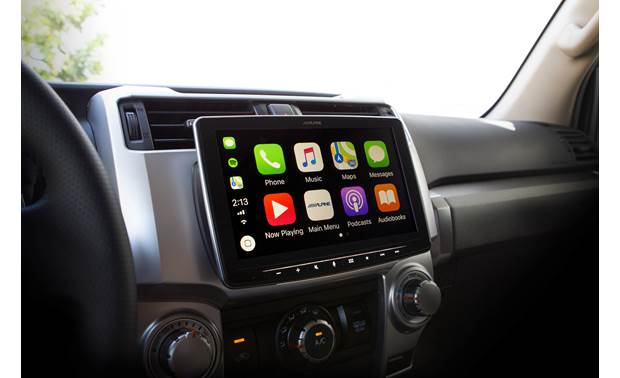 Alpine Halo9 ILX-F309FRN Expand your 4Runner's touchscreen experience with Alpine's Halo9
