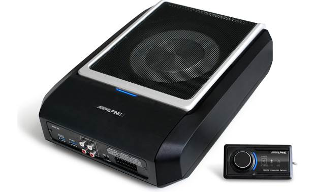 Alpine PWD-X5 powered sub and DSP with remote