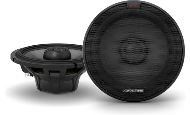 Alpine R-S65.2 Enjoy an extended frequency range with Alpine's R-Series