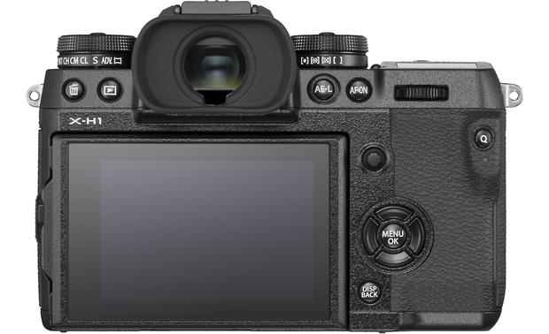 Fujifilm X-H1 camera and grip kit (no lens included) Back