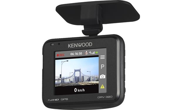 Kenwood DRV-320 Record your travels in full HD