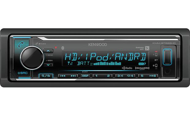 Kenwood KMM-BT522HD Pair up to five phones for wireless music streaming.