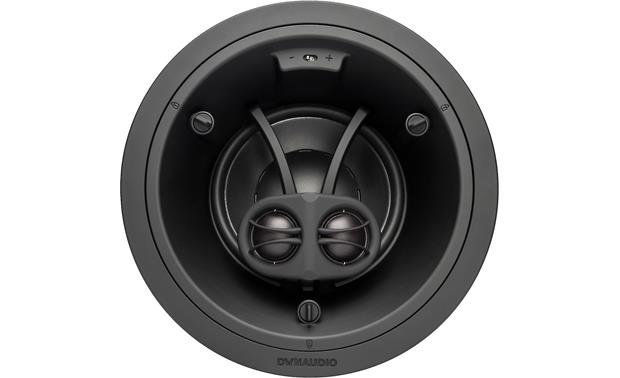 Dynaudio S4-DVC65 Dual tweeters play the left and right channels of a stereo signal