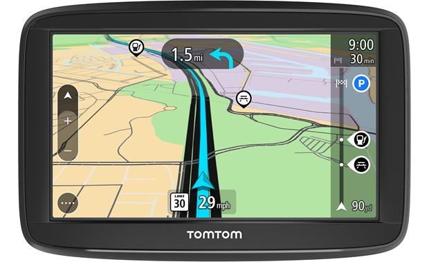TomTom VIA 1425M Quickly get the navigation and lane guidance from TomTom's touchscreen display