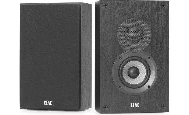 ELAC Debut 2.0 OW4.2 Shown with one grille removed