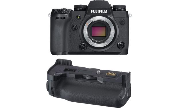 Fujifilm X-H1 camera and grip kit (no lens included) Front