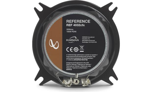Infinity Reference REF-4032cfx Back
