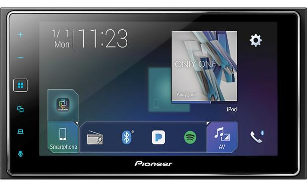 Pioneer MVH-1400NEX Pioneer gives you lots of music options including high-res music playback