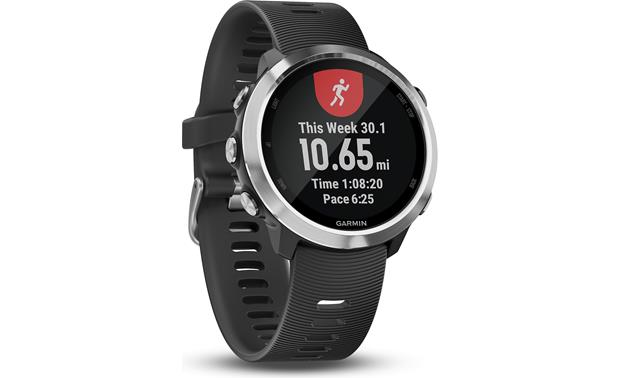 Garmin Forerunner 645 Record weekly mileage and more.