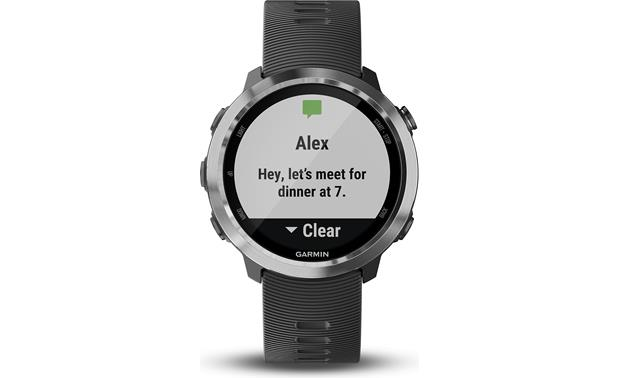 Garmin Forerunner 645 Music Smart notifications with your phone