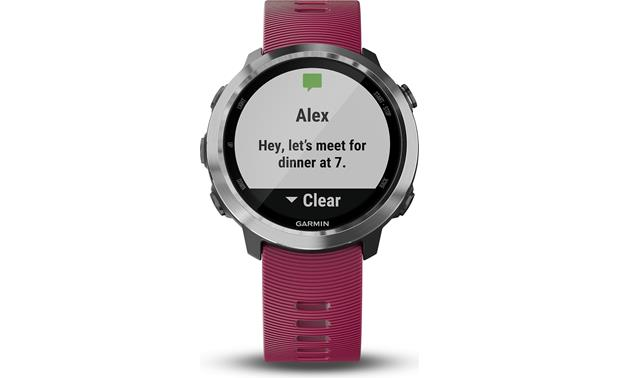 Garmin Forerunner 645 Music Smart notifications with your smartphone