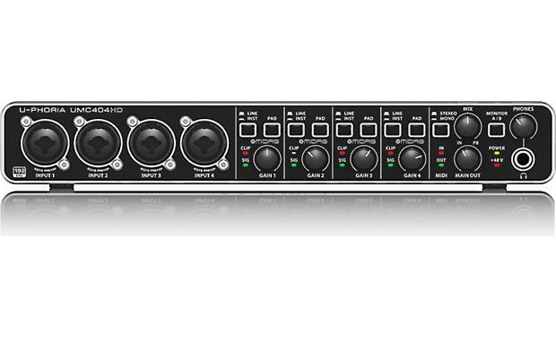 Behringer U-Phoria UMC404HD Direct front view