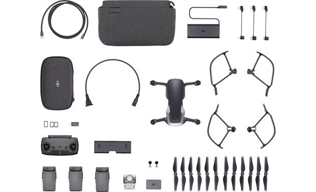 DJI Mavic Air Fly More Combo Front (shown with included accessories)