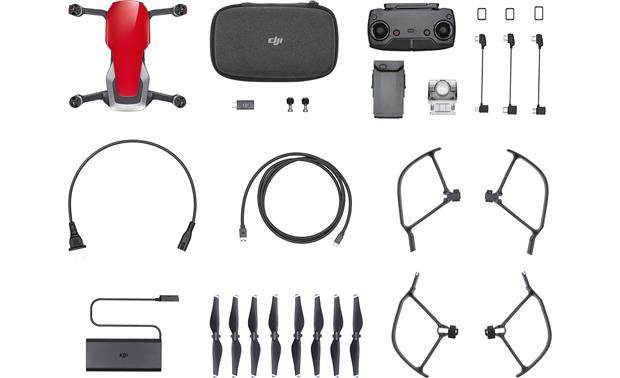 DJI Mavic Air Shown with included accessories