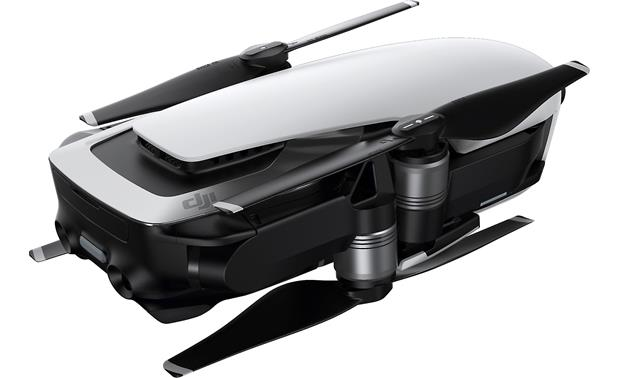 DJI Mavic Air Fly More Combo Folds up for easy transport