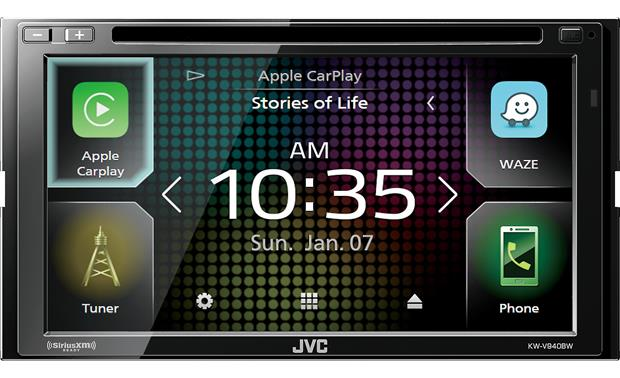 JVC KW-V940BW Get your smartphone involved using Android Auto™, Apple CarPlay™, or WebLink™