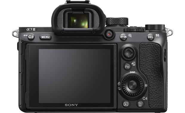 Sony Alpha a7 III (no lens included) Back