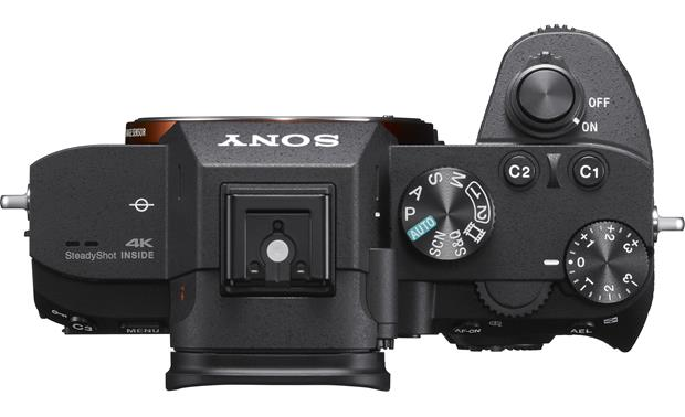 Sony Alpha a7 III Kit Top