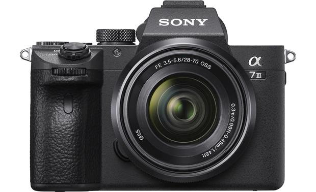 Sony Alpha a7 III Kit Front, straight-on