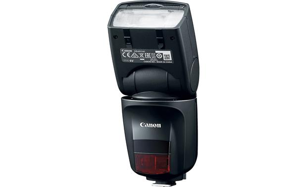 Canon Speedlite 470EX-AI Shown with flash head tilted upward