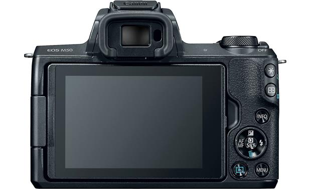 Canon EOS M50 Video Creator Kit Back