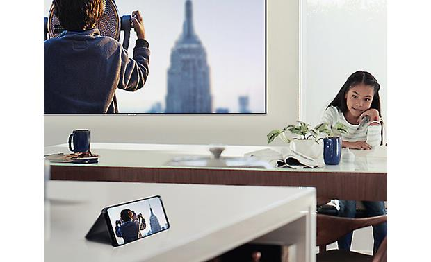 Samsung QN65Q6FN Screen mirroring from device to TV and TV to device