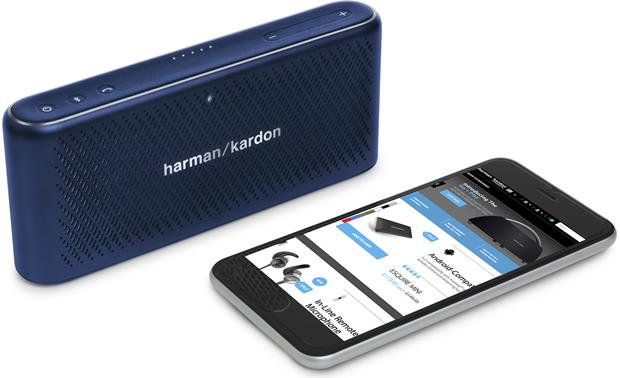Harman Kardon Traveler Blue - stream music via Bluetooth (smartphone not included)