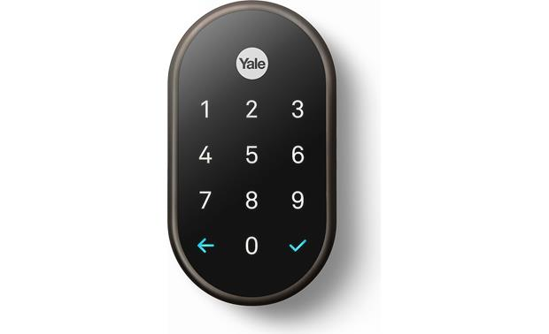a2eb04c3318 Nest x Yale Lock with Nest Connect (Oil-Rubbed Bronze) Smart lock ...