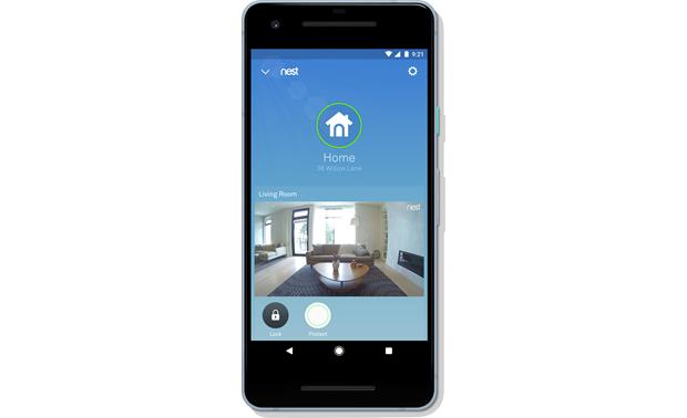 Nest x Yale Lock with Nest Connect Link your lock to an optional Nest Cam for real-time monitoring of your home