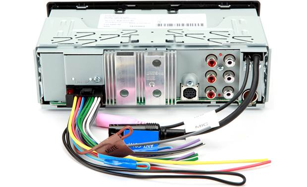 Kenwood PKG-MR325BT Back