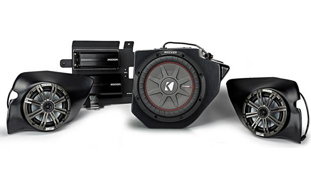 SSV Works/Kicker RZ4-3KRC 3-speaker audio upgrade kit