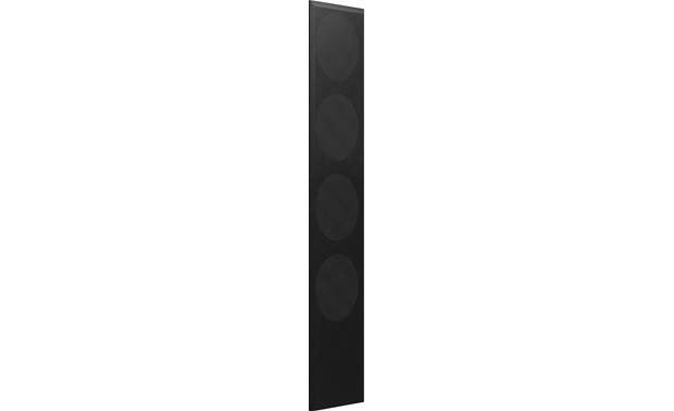 KEF Q550 Black Cloth Grille Magnetically attaches to the front of your KEF Q550 floor-standing speaker