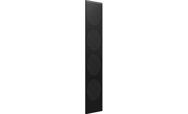 KEF Q750 Black Cloth Grille Magnetically attaches to the front of your KEF Q750 floor-standing speaker
