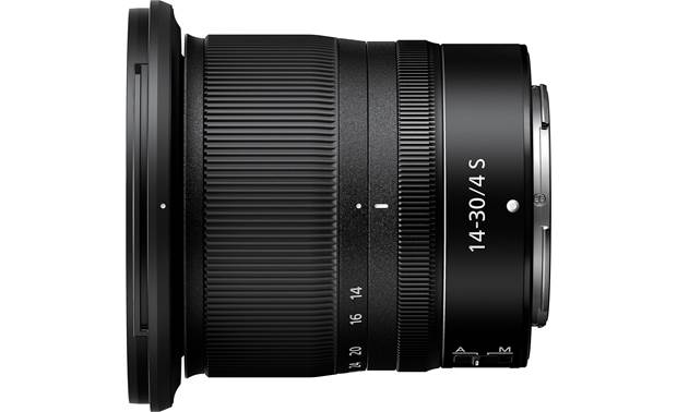 Nikon Nikkor Z 14-30mm f/4 S Mirrorless Side view