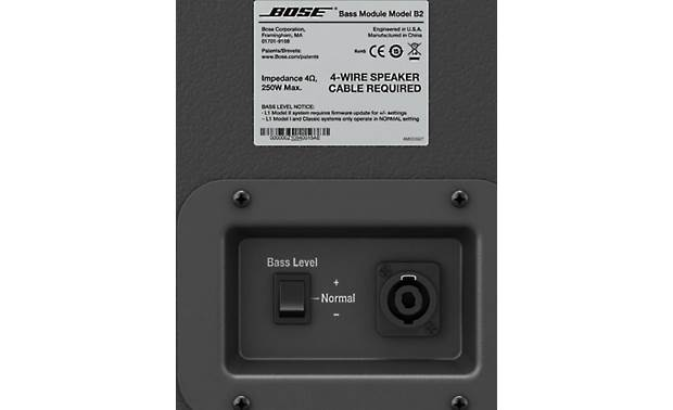 Bose® L1 Model II System with B2 Bass Module Package Other
