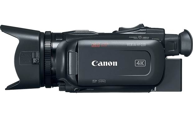 Canon VIXIA HF G50 Shown with viewscreen closed