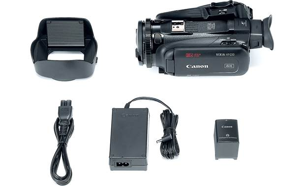 Canon VIXIA HF G50 Shown with included accessories